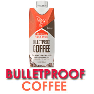 Bulletproof coffee is organic coffee, blended with grass-fed unsalted butter and coconut oil or so-called MCT oil